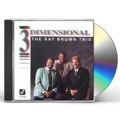Ray Brown THREE DIMENSIONAL CD