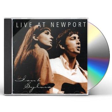 Ian & Sylvia LIVE AT NEWPORT CD