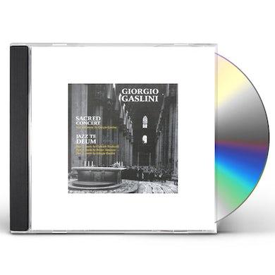 Giorgio Gaslini SACRED CONCERT JAZZ TE DEUM CD