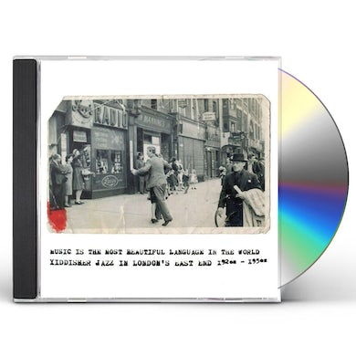 Va Music Is The Most Beautiful Language In The World: Yiddisher Jazz In London CD