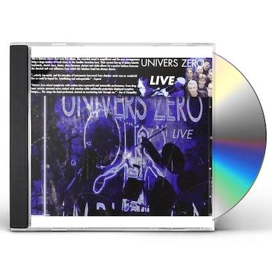 UNIVERS ZERO LIVE CD