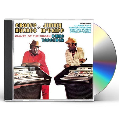 Jimmy Mcgriff WITH GROOVE HOLMES GIANTS OF THE ORGAN CD