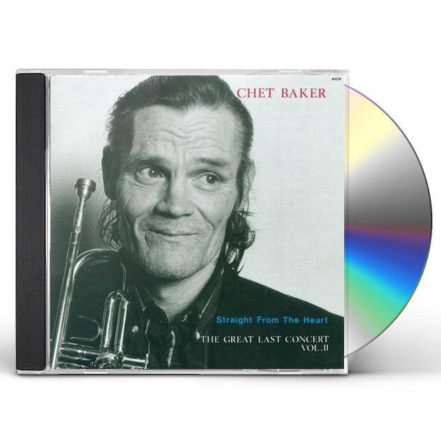 Chet Baker STRAIGHT FROM THE HEART: LAST CONCERT 2 CD
