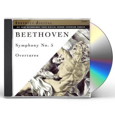 Ludwig Van Beethoven SYMPHONY 5 / OVERTURES CD