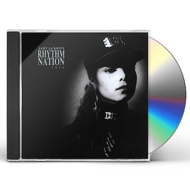 Janet Jackson RHYTHM NATION CD