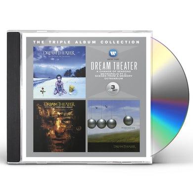 Dream Theater TRIPLE ALBUM COLLECTION CD