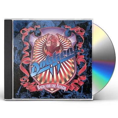Dokken BACK FOR THE ATTACK CD
