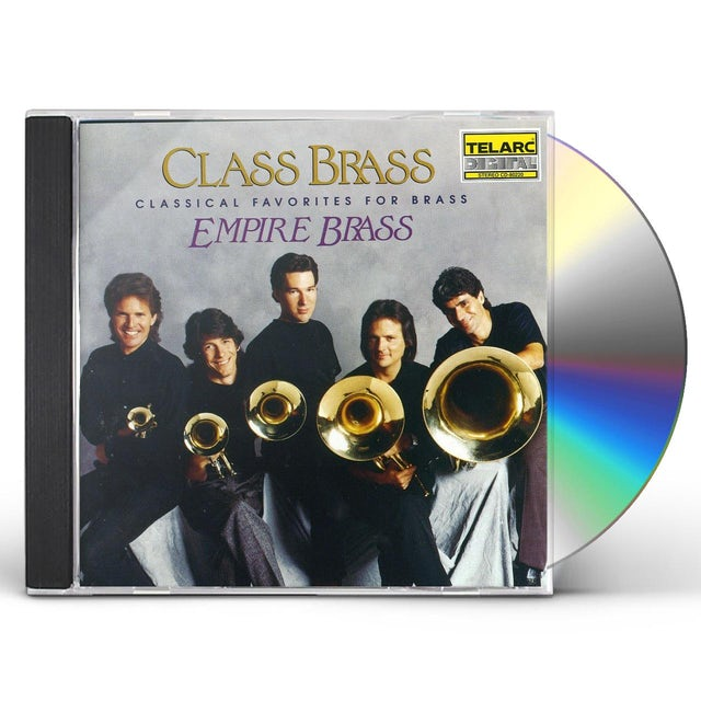 Empire Brass CLASS BRASS / ORCHESTRAL FAVORITES FOR BRASS CD
