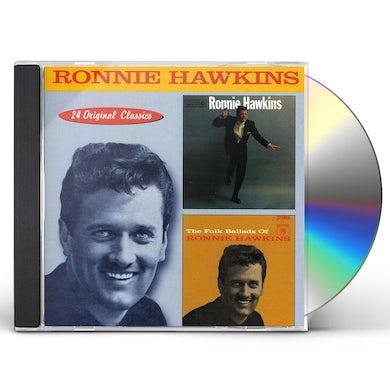 RONNIE HAWKINS / FOLK BALLADS OF CD