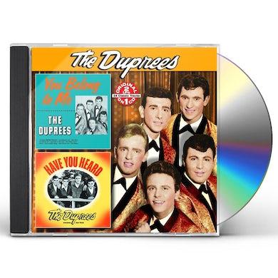 Duprees YOU BELONG TO ME / HAVE YOU HEARD CD