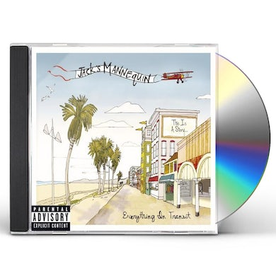 Jack's Mannequin EVERYTHING IN TRANSIT CD