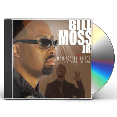 Bill Moss MANIFESTED FAVOR: LIVE FROM DETROIT CD