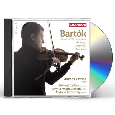 Bartok CHAMBER WORKS FOR VIOLIN VOL 3 CD