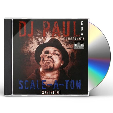 DJ Paul SCALE-A-TON CD
