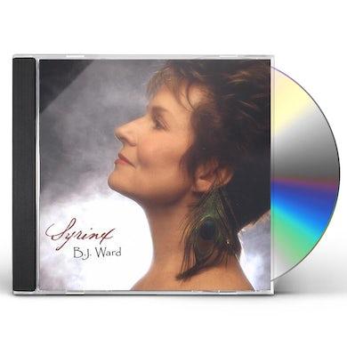 B.J. Ward SYRINX: THE VOICE OF THE SONGBIRD CD