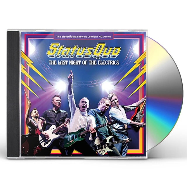 Status Quo LAST NIGHT OF THE ELECTRICS CD