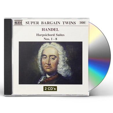Handel HARPSICHORD SUITES NOS 1-8 CD