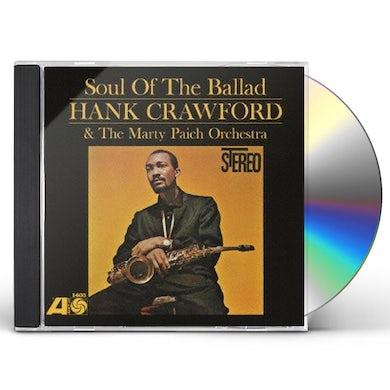 Hank Crawford SOUL OF THE BALLAD CD