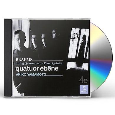 Quatuor Ebene BRAHMS: STRING QUARTET 1 CD
