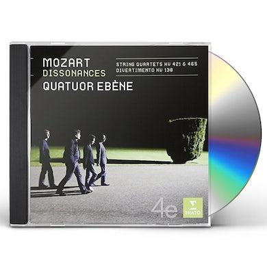 Quatuor Ebene MOZART: DISSONANCES / STRING QUARTETS CD