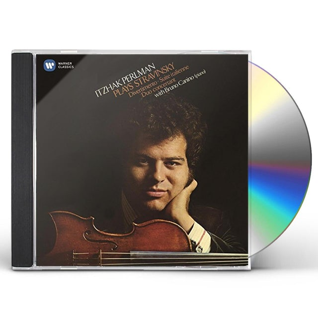 Itzhak Perlman PLAYS STRAVINSKY CD