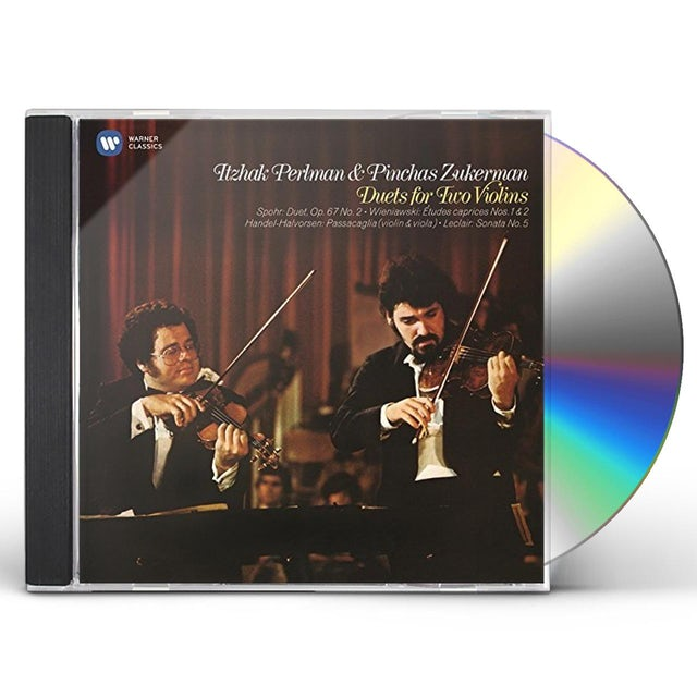 Itzhak Perlman DUETS FOR TWO VIOLINS CD