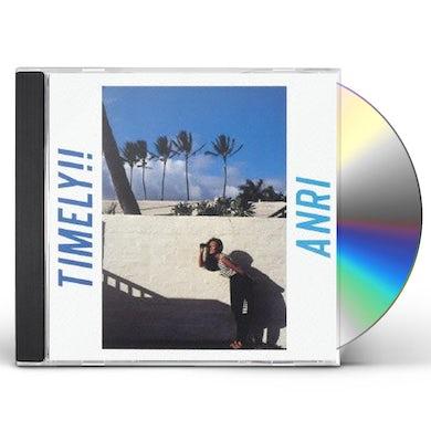 Anri TIMELY!! CD