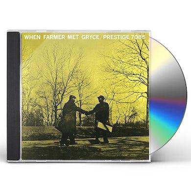 Art Farmer WHEN FARMER MET GRYCE CD