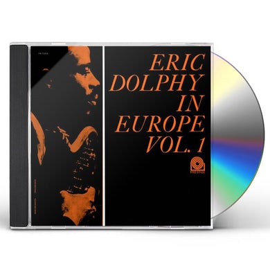 Eric Dolphy IN EUROPE VOL 1 CD