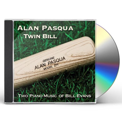 Alan Pasqua TWO PIANO MUSIC OF BILL EVANS CD