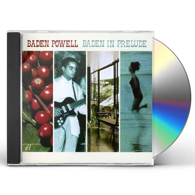 Baden Powell BADEN IN PRELUDE CD
