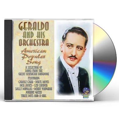 Geraldo & His Orchestra AMERICAN POPULAR SONG CD