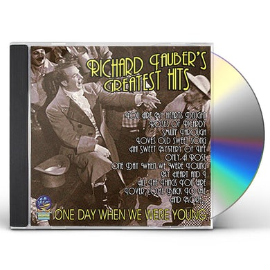 Richard Tauber BEST OF - ONE DAY WHEN WE WERE YOUNG CD