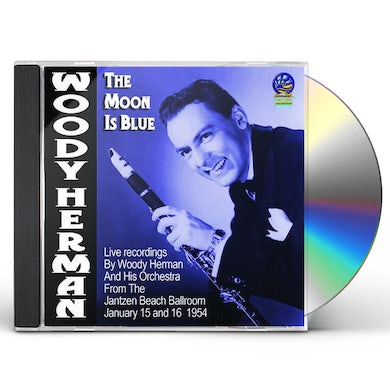 Woody Herman & His Orchestra MOON IS BLUE CD