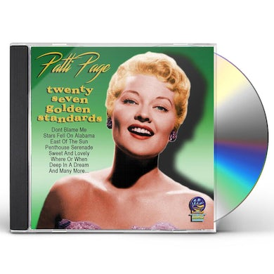 Patti Page TWENTY SEVEN GOLDEN STANDARDS CD