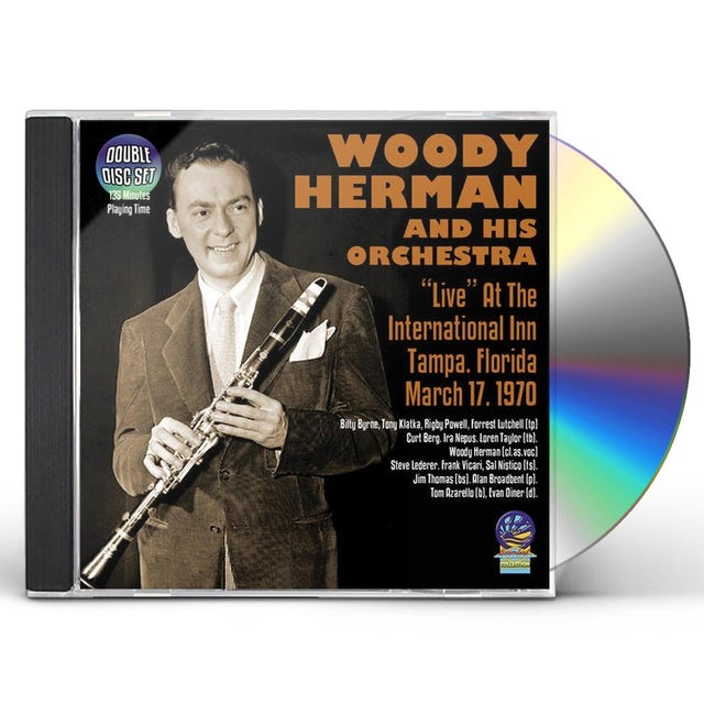 Woody Herman & His Orchestra HERMAN,WOODY & HIS ORCHESTRA CD