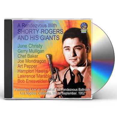Shorty Rogers & His Giants RENDEZVOU WITH CD