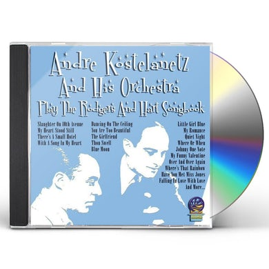 Andre Kostelanetz PLAY THE RODGERS & HART SONGBOOK CD