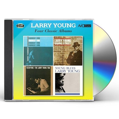 Larry Young FORREST FIRE / GROOVE STREET / TESTIFYING / YOUNG CD