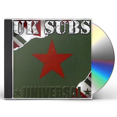 U.K. Subs UNIVERSAL CD