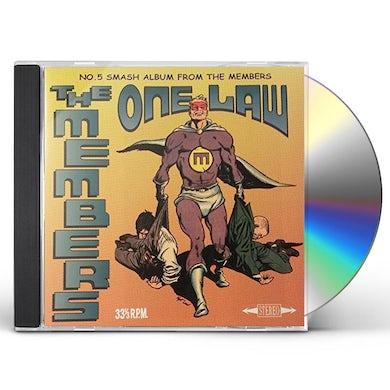 MEMBERS ONE LAW CD