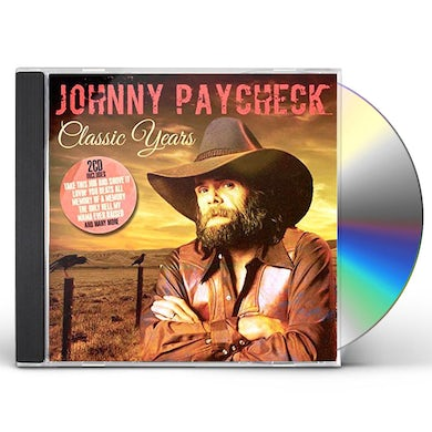 Johnny Paycheck CLASSIC YEARS CD