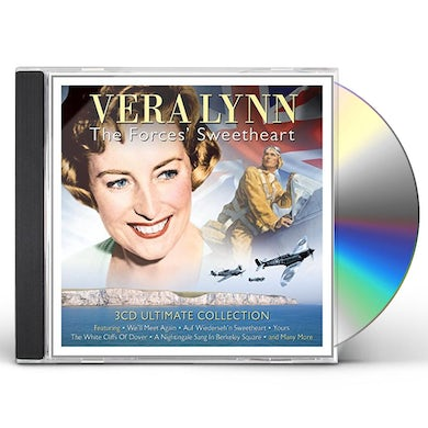 Vera Lynn FORCES SWEETHEART ULTIMATE COLLECTION CD