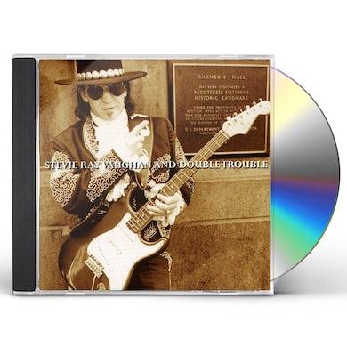 Stevie Ray Vaughan LIVE AT CARNAGIE HALL CD