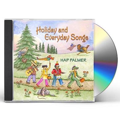 Hap Palmer HOLIDAY & EVERYDAY SONGS CD