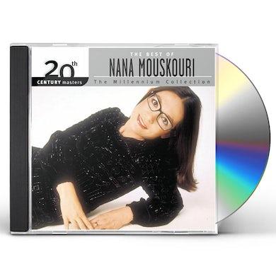 Nana Mouskouri 20TH CENTURY MASTERS: MILLENNIUM COLLECTION CD