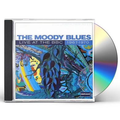 The Moody Blues LIVE AT THE BBC: 1967-1970 CD