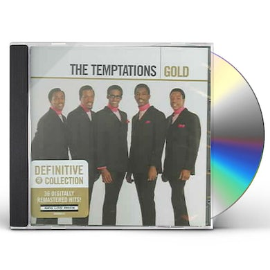 The Temptations GOLD CD