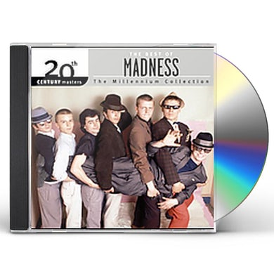 Madness 20TH CENTURY MASTERS: MILLENNIUM COLLECTION CD