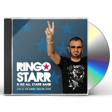 Ringo Starr & His All Starr Band LIVE AT THE GREEK THEATRE 2008 CD
